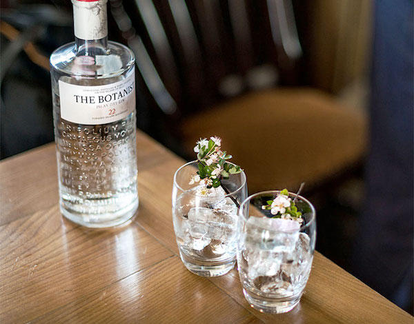 Gin Masterclass in The Pantry